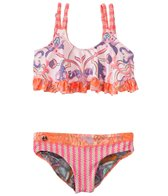 Maaji Girls' City of Art Two Piece Bikini Set (6-16)