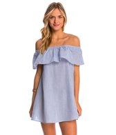 MINKPINK French Twist Off Shoulder Dress