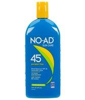 NO-AD SPF 45 Sunscreen Lotion 16oz