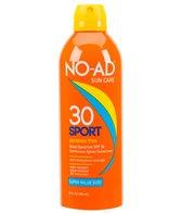 NO-AD Sport SPF 30 Continuous Spray Sunscreen 10oz