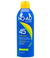 NO-AD SPF 45 Continuous Spray Sunscreen 10oz