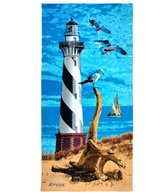 Kaufman Sales Light House 30 x 60 Beach Towel