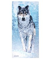 Kaufman Sales Wolf 30 x 60 Beach Towel