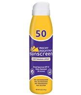 Rocky Mountain Sunscreen SPF 50 Travel Size 6oz. Spray Sunscreen