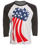 USA Swimming Unisex Team Pride Raglan T-Shirt
