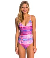 Stone Fox Swim Dream On Hermosa One Piece Swimsuit