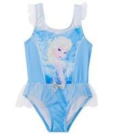 Disney Girls' Frozen Ruffle One Piece Swimsuit (2T-4T)