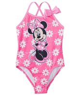 Disney Girls' Minnie Mouse One Piece Swimsuit (2T-4T)