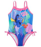 Disney Girls' Finding Dory One Piece Swimsuit (2T-4T)