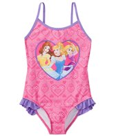 Disney Girls' Princess One Piece Swimsuit (4-6X)