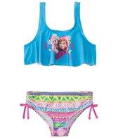 Disney Girls' Frozen Bikini Set