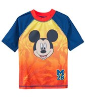 Disney Boys' Mickey Mouse Rashguard (2T-4T)