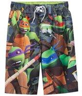 Nickelodeon Boys' Teenage Mutant Ninja Turtles Swim Trunks (4-7)