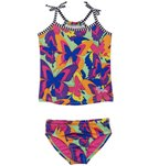 Dolfin Little Dolfins Fauna Tankini Swimsuit Set
