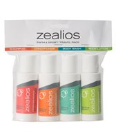Zealios Skin Care Set of 4 Travel Pack, 2 oz each