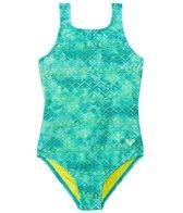 Roxy Girls' Crochet Cutie One Piece Swimsuit (7-16)