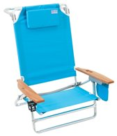 Rio Brands The Big Kahuna Solid Blue King Size Beach Chair