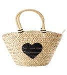 Pia Rossini Arizona Summer Basket Straw Tote Bag