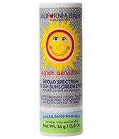 California Baby Super Sensitive Broad Spectrum SPF30+ Sunscreen Stick, no fragrance