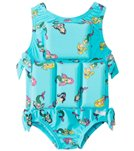 My Pool Pal Girls' Mermaid Floatation Swimsuit