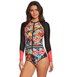 Body Glove Women's Wonderland Jump L/S One Piece  Swimsuit