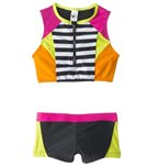 Limeapple UPF 50+ Rays Two Piece Bikini Set (4-16)