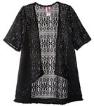 Gossip Girls' Gypsy Breeze Crochet Cover Up (7-16)