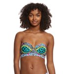 Betsey Johnson Arabian Nights Underwire Bump Me Up Bikini Top