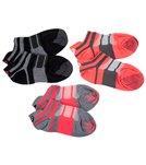 Asics Women's Quick Lyte Single Tab 3 Pack Socks