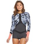 Rip Curl Women's 1mm G-Bomb Madison Sublimated Long Sleeve Boyleg Spring Suit Wetsuit