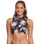 Seafolly Pacifico Active Jungle Floral Cross Back Top