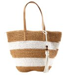 Pia Rossini Antigua Straw Tote Bag