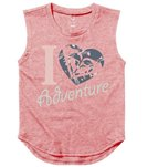 Roxy Girls' Heart Adventure Youth Muscle Tee (8-16)