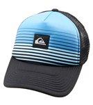 Quiksilver Boys' Stripe Block Trucker Hat