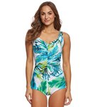 Maxine Palm Beach Girl Leg One Piece Swimsuit