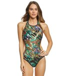 Kenneth Cole After the Sun-Sets High Neck Monokini One Piece Swimsuit