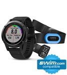 Garmin fenix 5 Sapphire Multi-Sport GPS Watch Performer Bundle
