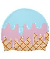 Sporti Ice Cream Scoop Silicone Swim Cap