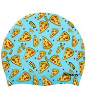 Sporti Pizza Slice Silicone Swim Cap