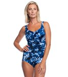 d307609130 Beach Diva Ethereal Illusion Shortini One Piece Swimsuit at ...