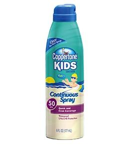 Coppertone Kids Continuous Spray SPF 50 6oz