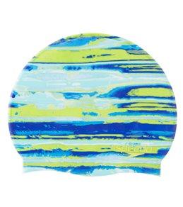 Speedo Elastomeric Remix Swim Cap At Swimoutlet Com