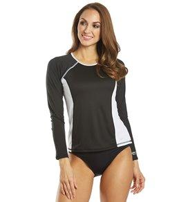 Flgoo Mens 2 Pack UPF 50 UV Sun Protection Outdoor Long Sleeve Performance with Speedo Swim Competiton