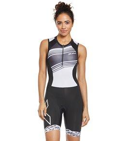 2XU Damen Perform Trisuit W//Rear Zip Triathlon Einteiler