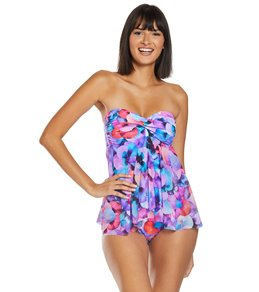 Profile by Gottex Womens Scoop Neck Flyaway One Piece Swimsuit
