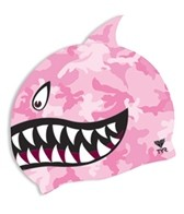 tyr-shark-fin-junior-silicone-cap
