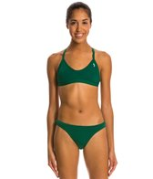 Illusions Hunter Green Two Piece Swimsuit Set