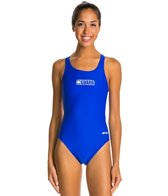 Dolfin Female Lifeguard Logo HP Back One Piece Swimsuit