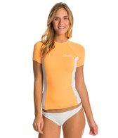 O'Neill Women's Skins Short Sleeve Crew Rashguard