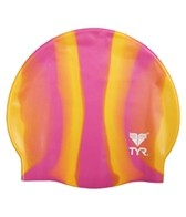 TYR Multi Color Silicone Swim Cap